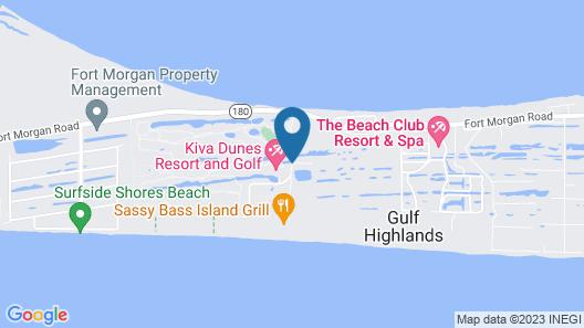 Gulf Shores Plantation 3324 2 Bedroom Condo Map