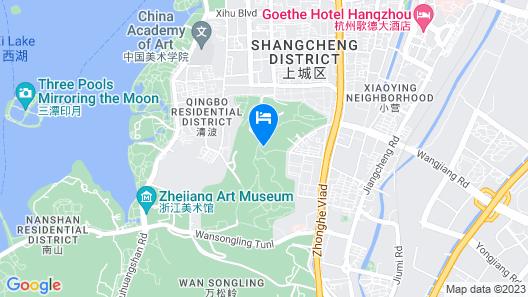 Wuyang Inn Hangzhou Map