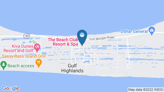 Beach Club by Meyer Vacation Rentals Map