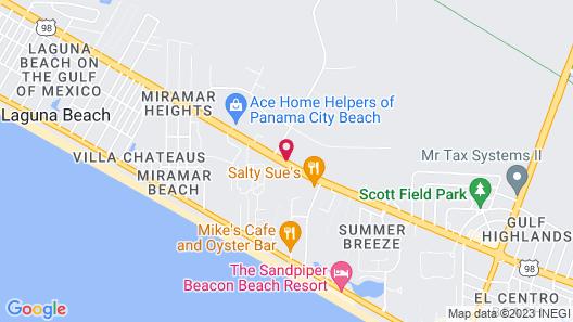 La Quinta Inn & Suites by Wyndham PCB Pier Park area Map