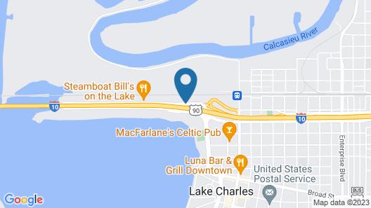 Days Inn by Wyndham Lake Charles Map