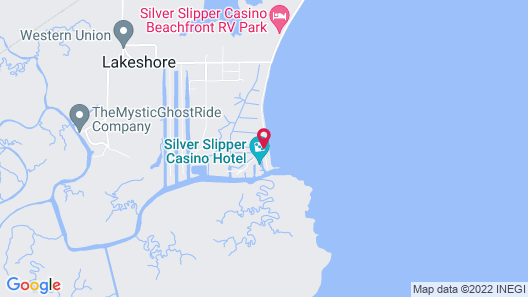 Silver Slipper Casino Hotel Map