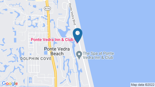 Ponte Vedra Inn & Club Map