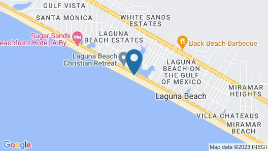 Pineapple Villas on Laguna Beach Map