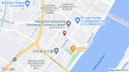 InterContinental Hangzhou, an IHG Hotel Map