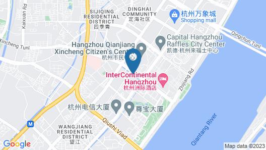 InterContinental Hangzhou, an IHG Hotel Map