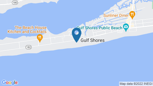 Crystal Shores by Luxury Gulf Rentals Map