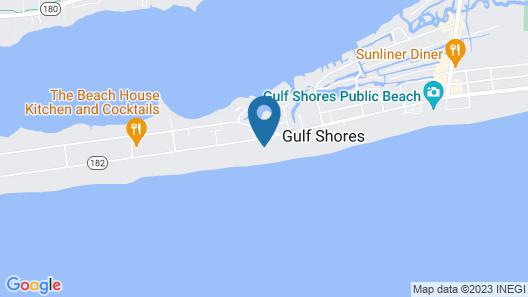 Crystal Shores West Condos by Hosteeva Map