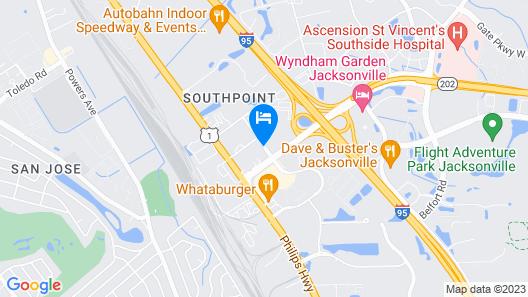 Baymont by Wyndham Jacksonville/Butler Blvd Map