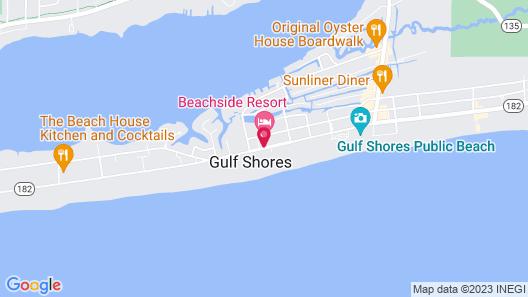 Beachside Resort Hotel Map