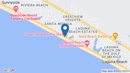 Sugar Sands By The Sea Map