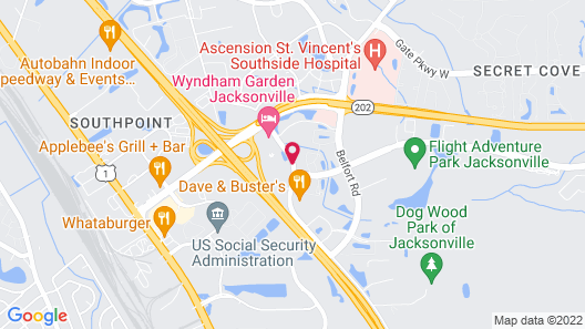 Country Inn & Suites by Radisson, Jacksonville I-95 South, FL Map