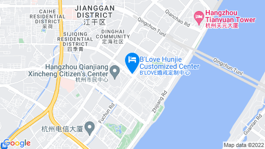 Conrad Hangzhou Map