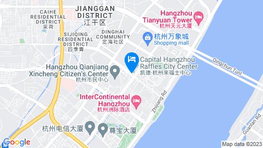 Ascott Raffles City Hangzhou Map