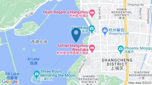 Sofitel Hangzhou Westlake Map