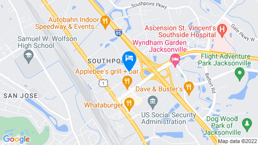 La Quinta Inn & Suites by Wyndham Jacksonville Butler Blvd Map