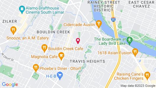 Park Lane Guest House Map