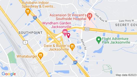 Marriott Jacksonville Map