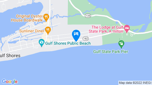 Boardwalk by Youngs Suncoast Map
