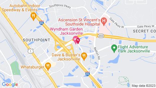 Wyndham Garden Jacksonville Map