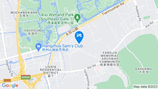 Sailing International Hotel Hangzhou Map