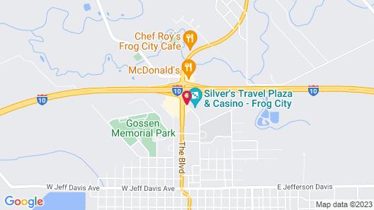 Best Western Rayne Inn Map