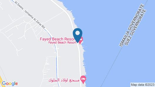Fayed Beach Resort Map