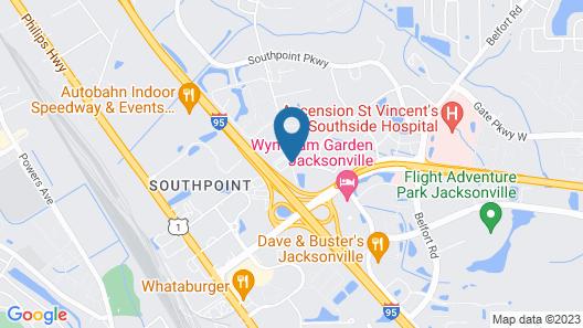 Tricove Inn & Suites Map