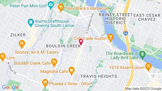 Austin Motel Map