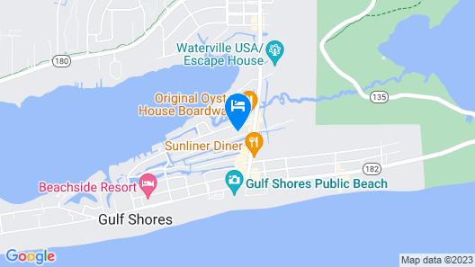 Venetian Isle 3 in Gulf Shores Map
