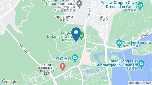 Four Seasons Hotel Hangzhou at West Lake Map