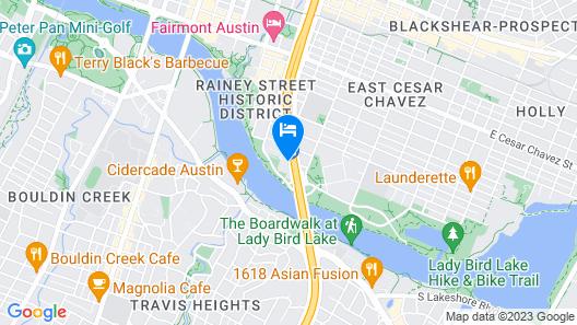 Holiday Inn Austin -Town Lake, an IHG Hotel Map