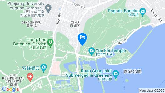 Shangri-La Hotel Hangzhou Map