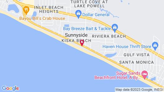 Beachside Resort Panama City Beach Map