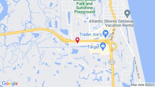 Hampton Inn Jacksonville/Ponte Vedra Beach-Mayo Clinic Area Map