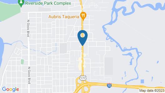 Best Western Bayou Inn & Suites Map