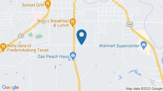 Fairfield Inn & Suites Fredericksburg Map