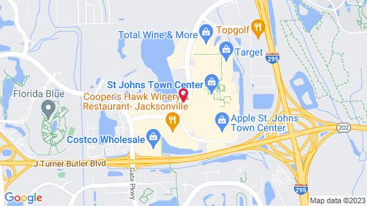 Hyatt Place Jacksonville / St. Johns Town Center Map
