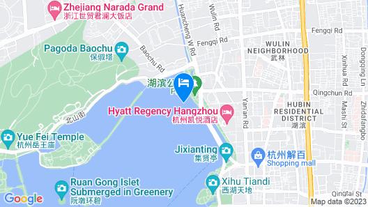 Grand Hyatt Hangzhou Map