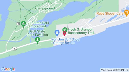 Hotel Indigo Orange Beach - Gulf Shores, an IHG Hotel Map