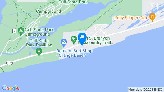 Sugar Beach by Meyer Vacation Rentals Map