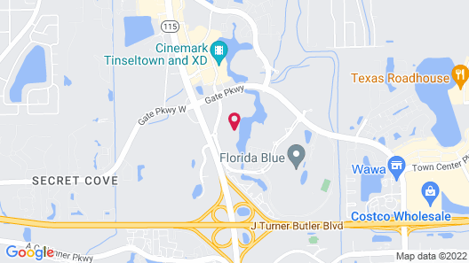 Hotel Indigo Jacksonville-Deerwood Park, an IHG Hotel Map