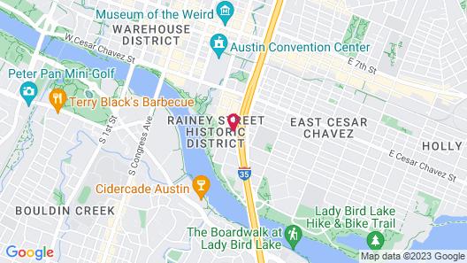 Homewood Suites by Hilton Austin Downtown Map