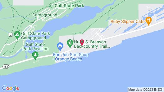 Hilton Garden Inn Orange Beach Map