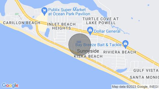 Barbey Beach Retreat at Sunnyside Tennis Map