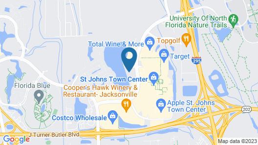 Tru By Hilton Jacksonville St Johns Town Center Map