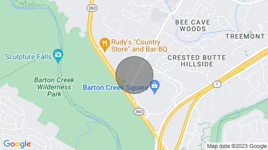 Wanderjaunt Vermilion 1BR Barton Creek Map