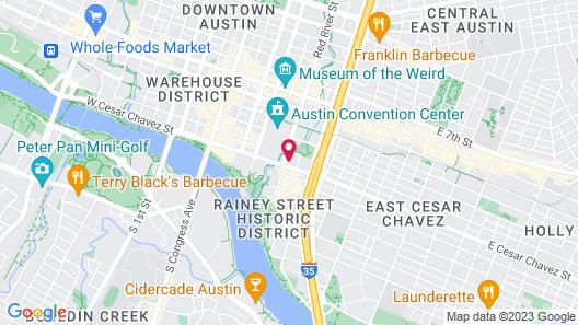 Fairmont Austin Map