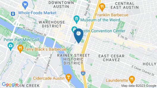 Fairmont Austin Gold Experience Map