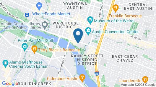 Four Seasons Hotel Austin Map